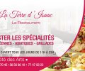La Terre d'isaac / le restaurant