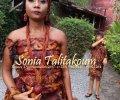 Sonia Talitakoum Tenues Traditionnelles