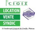 CEGEX IMMOBILIER