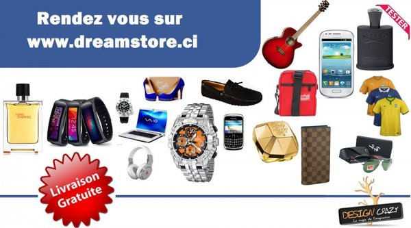 Dream store Cote d'ivoire