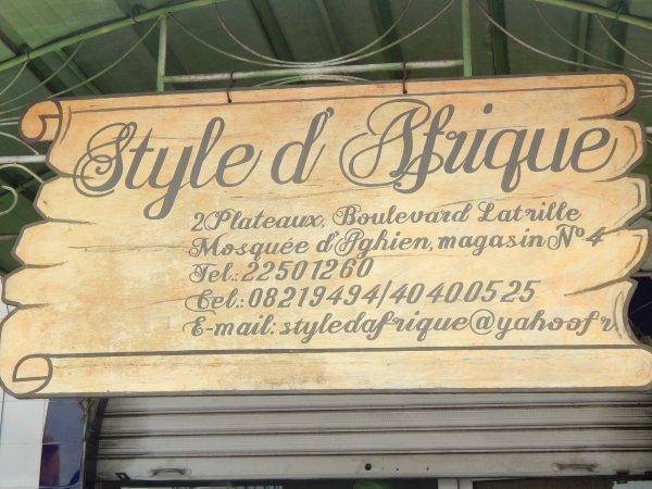 STYLE D'AFRIQUE