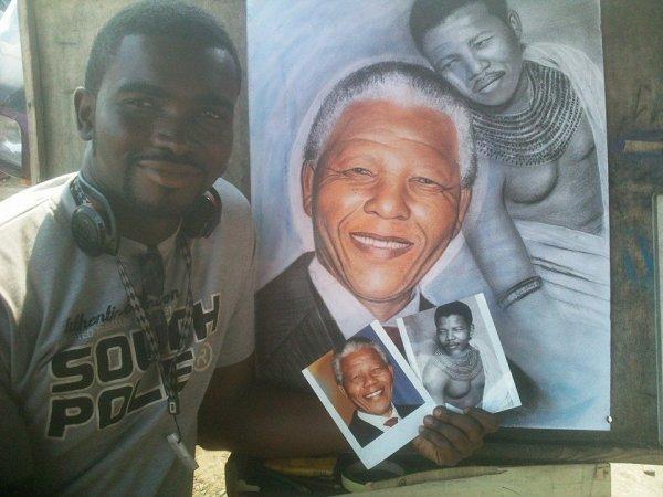 Theophile Kanga PORTRAITISTE