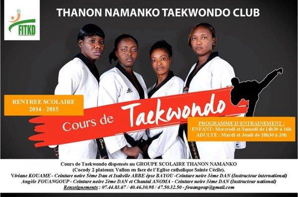 Thanon Namanko Taekwondo CLUB