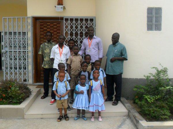 Maison famille YAOU, Maison Padre Pio – Cote d'Ivoire