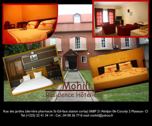Résidence Hôtelière Mohili