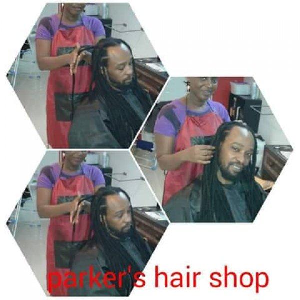 Parker's hair shop (Dreadlocks)