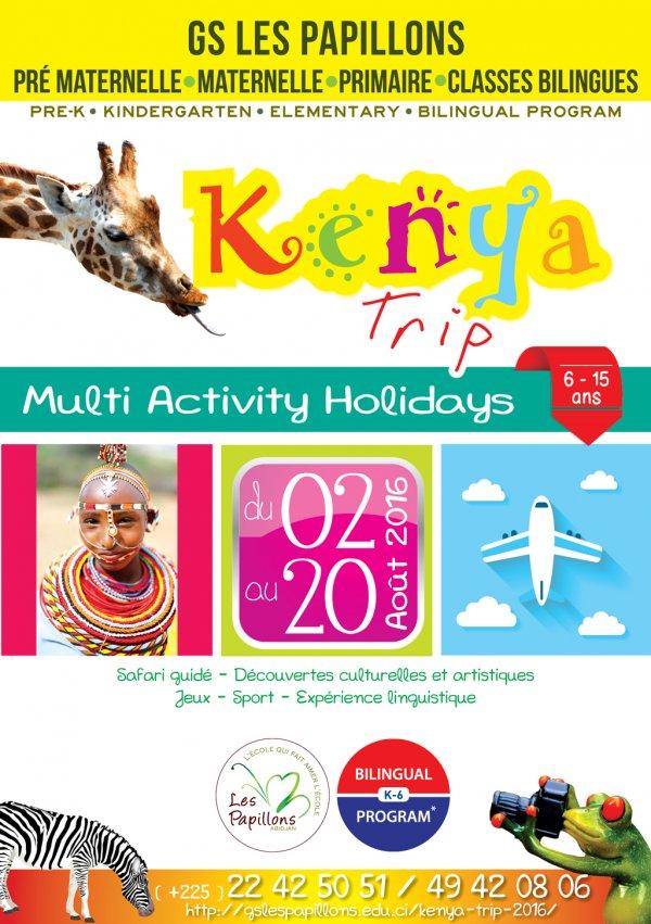 Voyage au Kenya (GS les Papillons)