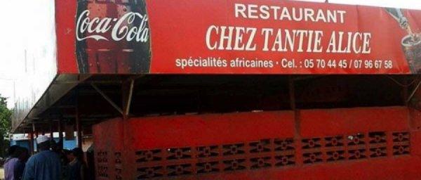 RESTAURANT CHEZ TANTIE ALICE