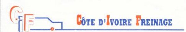 COTE D'IVOIRE FREINAGE