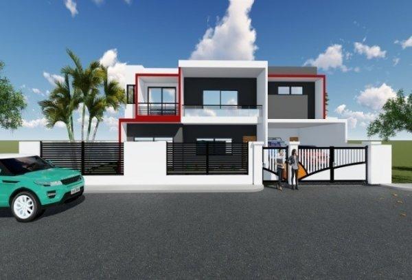 Villa Duplex HS - Cité Colombe 3 – Bingerville – BATIR_SA
