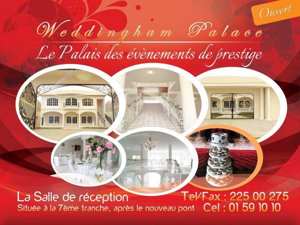 Weddingham Palace Cocody